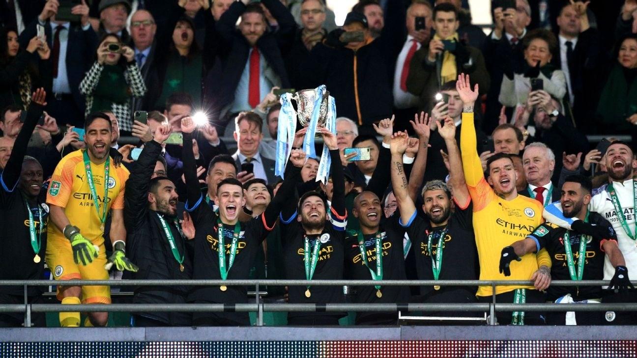 لقب ثالث على التوالي لمانشستر سيتي في كأس الرابطة