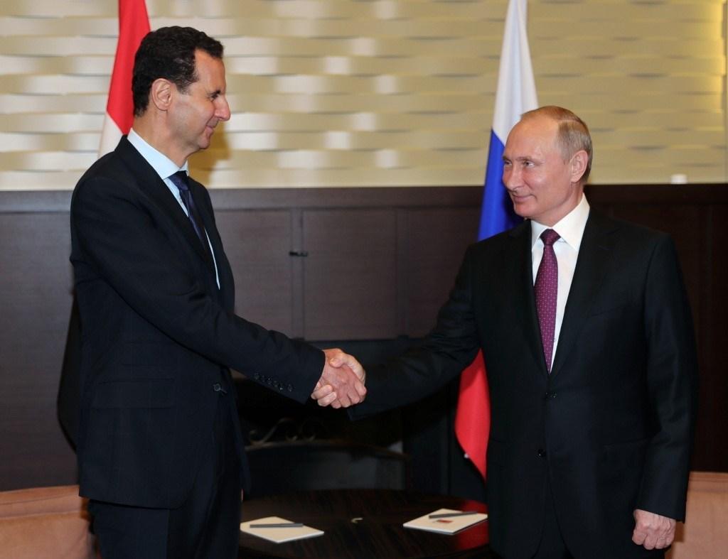 بوتين والأسد يناقشان هاتفياً تنفيذ الاتفاقات الروسية التركية بخصوص إدلب