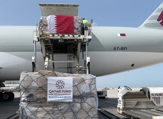 قطر ترسل مساعدات طبية إلى إيران لمواجهة فيروس كورونا