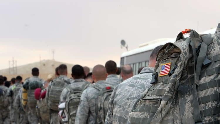 القوات الأميركية تنسحب من أبراج قاعد الحبانية العراقية