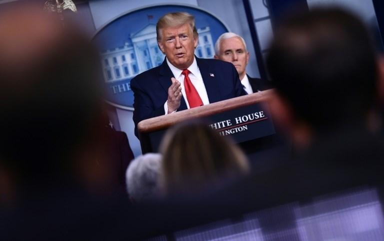 """ترامب ينشر الحرس الوطني في الولايات المتضررة من كورونا ويعلن عن """"منطقة كوارث"""" جديدة"""