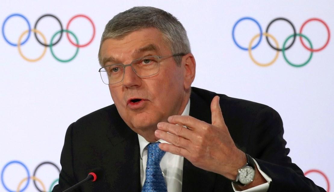 رئيس اللجنة الأولمبية الدولية يوجّه رسالة للرياضيين