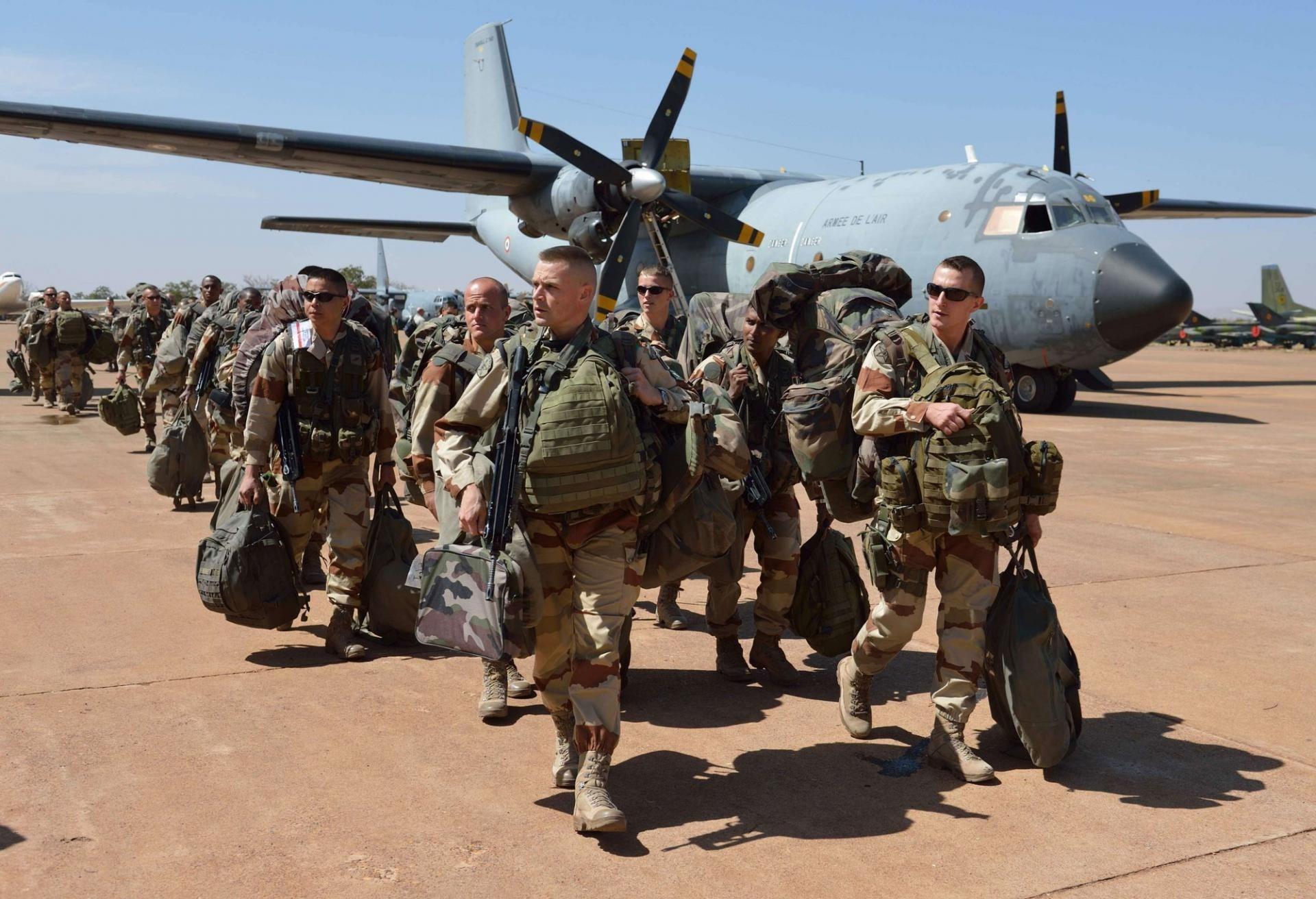 القوات الفرنسية... خارج العراق