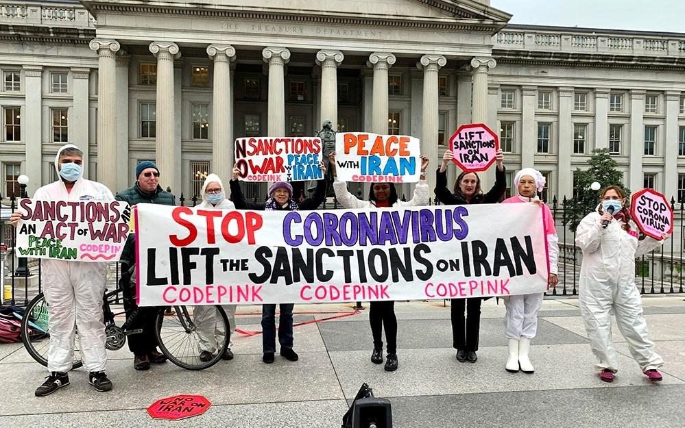 أوقفوا العقوبات عن إيران... ناشطون حول العالم يحتّجون عبر مواقع التواصل