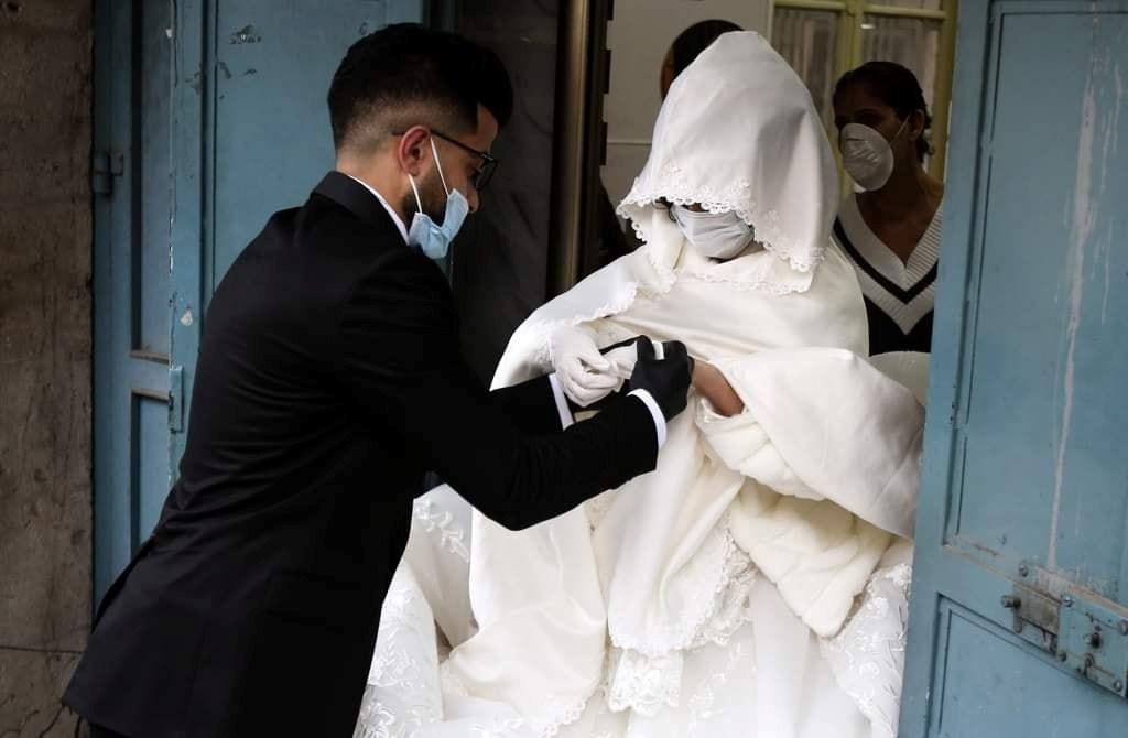 حفلات زفاف خلال أزمة كورونا؟