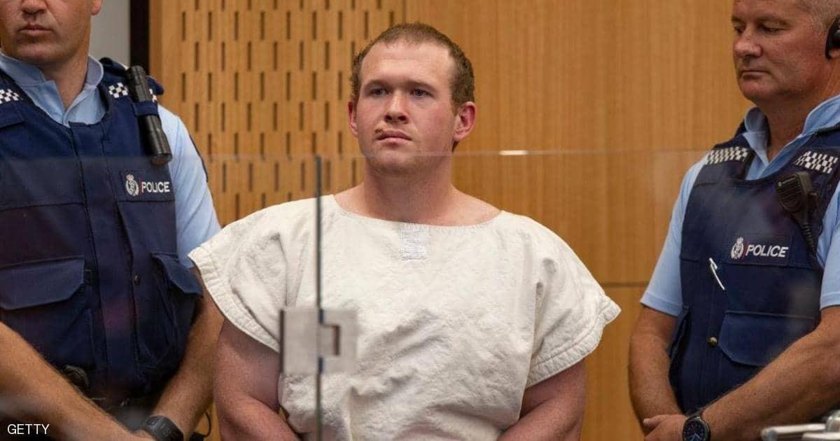 مرتكب جريمة مسجدي نيوزيلندا المروعة يعترف بالتهم الموجهة إليه