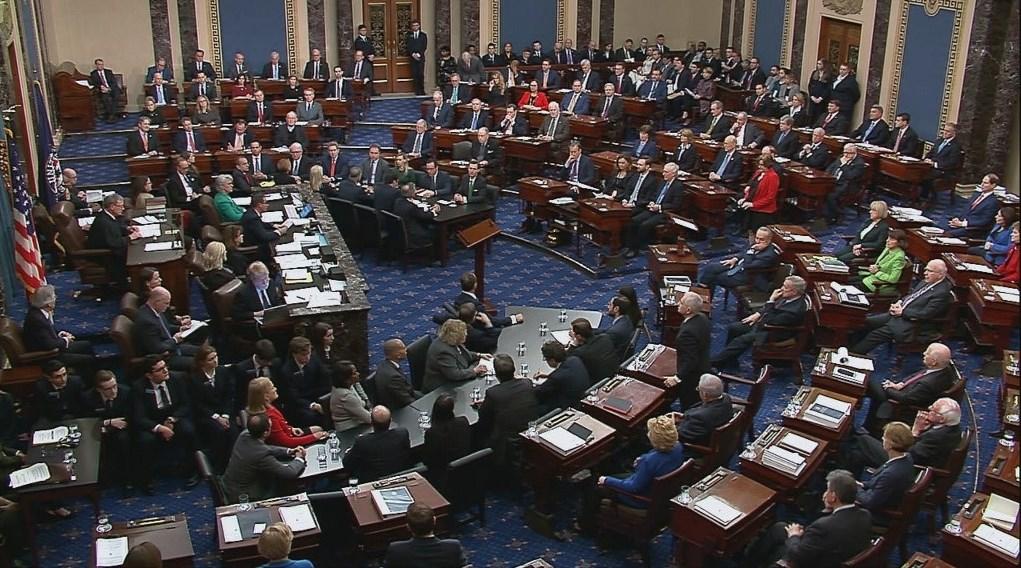مجلس الشيوخ الأميركي يقرّ مشروع قانون بتريليوني دولار لمواجهة كورونا