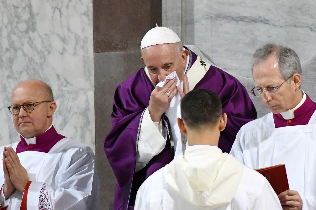 صحافيان في الفاتيكان: البابا فرنسيس غير مصاب بفيروس كورونا