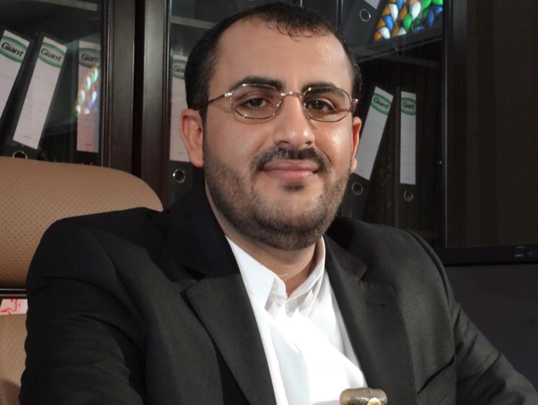 عبد السلام: استمرار العدوان والحصار على اليمن يعني استمرار العمليات ضده
