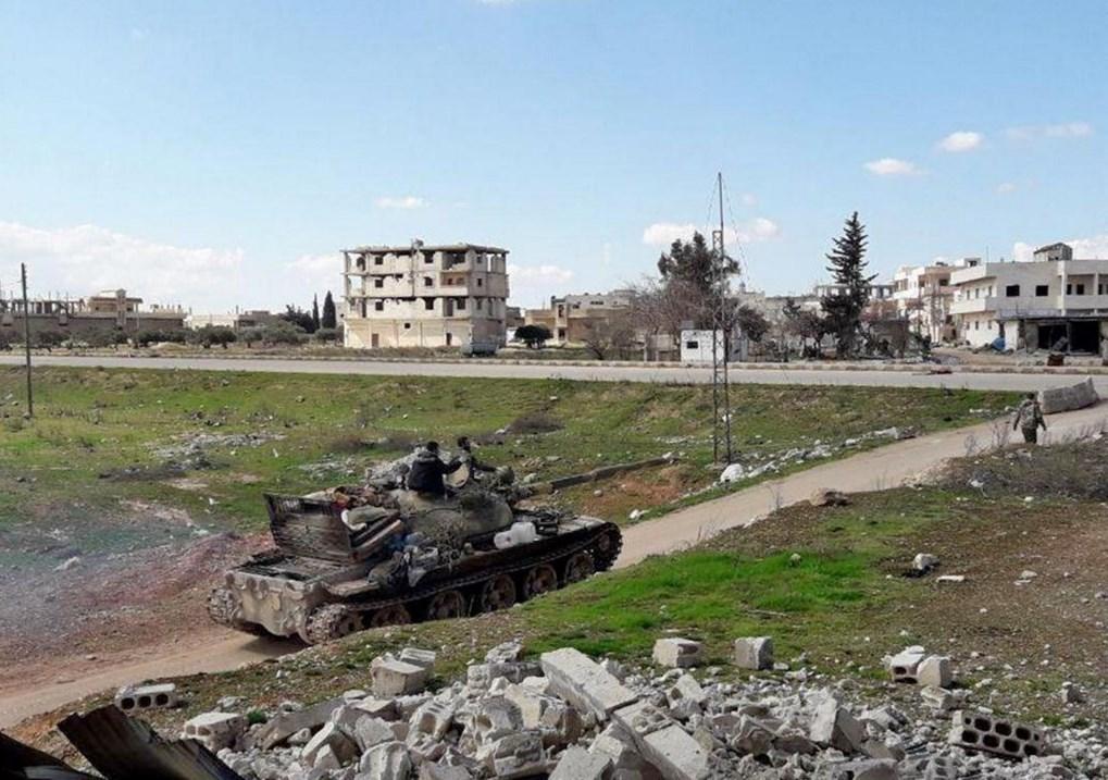 القوات الروسية تنتشر في سراقب واستمرار تقدم الجيش السوري في إدلب