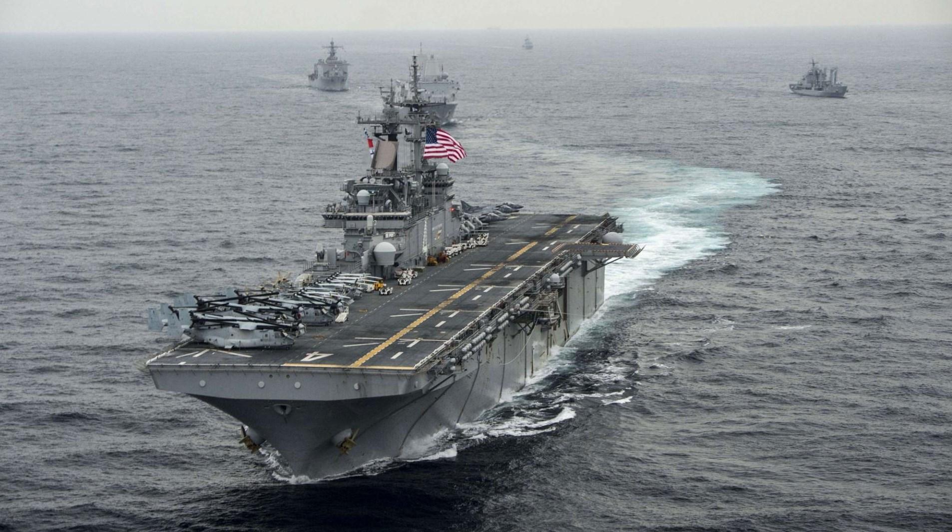 جنوب شرق آسيا أولاً في صَدارة اهتمام البحرية الأميركية