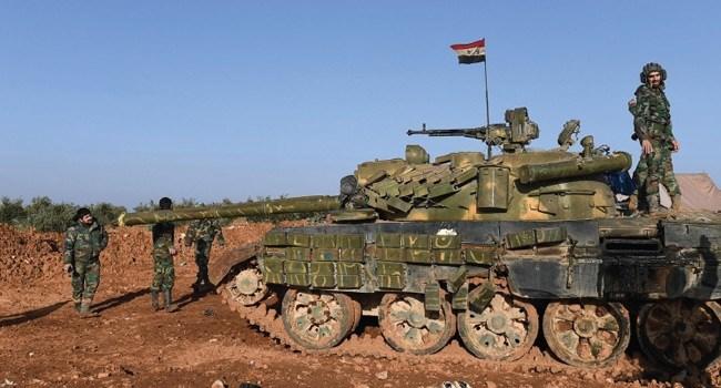 مراسلة الميادين: الجيش السوري يمهد للتقدم البري نحو آفس والنيرب في ريف إدلب