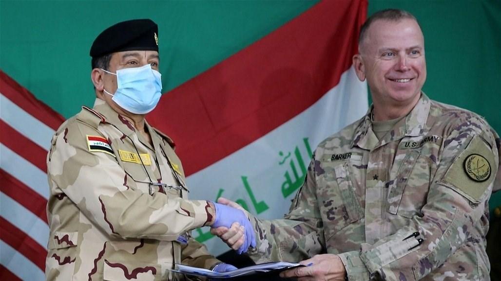 """بعد تسليم قاعدة """"كي وان"""".. """"التحالف"""" يسلم مقره في نينوى إلى وزارة الدفاع العراقية"""