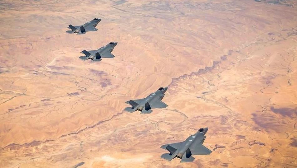 مناورة مشتركة لسلاحي الجو الإسرائيلي والأميركي