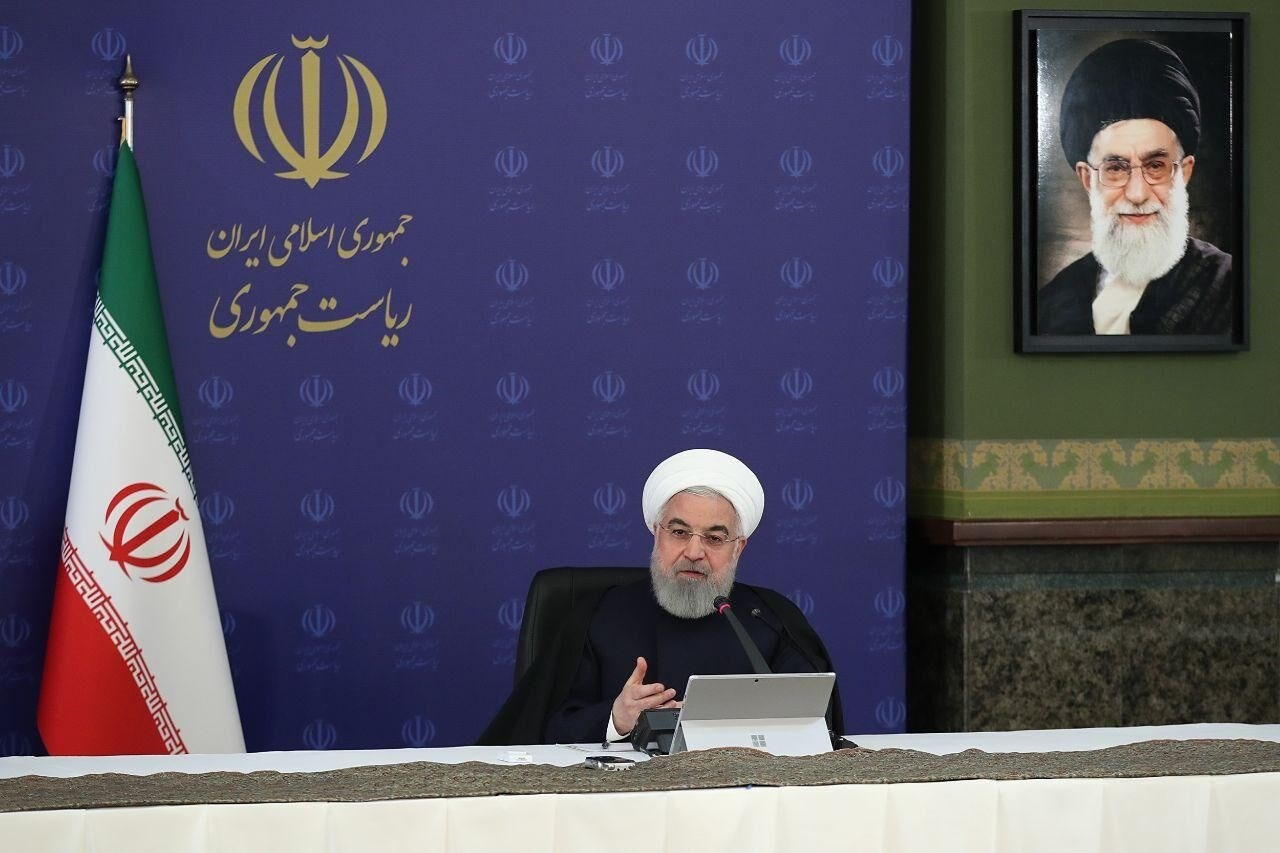 روحاني: الانجازات لمواجهة كورونا ناجمة عن دعم الشعب وتعاونه