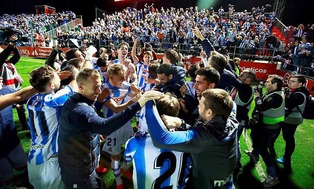 ريال سوسيداد الطرف الأول في نهائي كأس إسبانيا