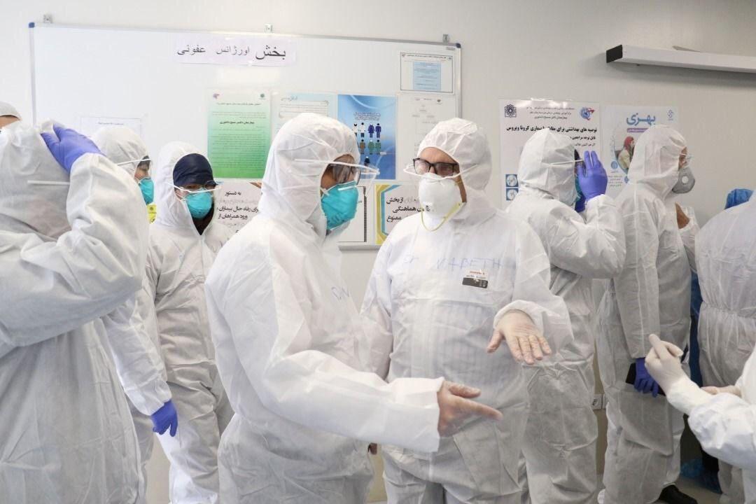 """""""الصحة العالمية"""" تشيد بتجربة إيران في مكافحة فيروس كورونا"""