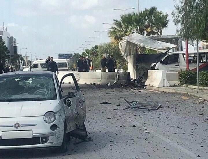 وزارة الداخلية التونسية: التفجير استهدف دورية أمنية ولم يستهدف مقر السفارة الأميركية