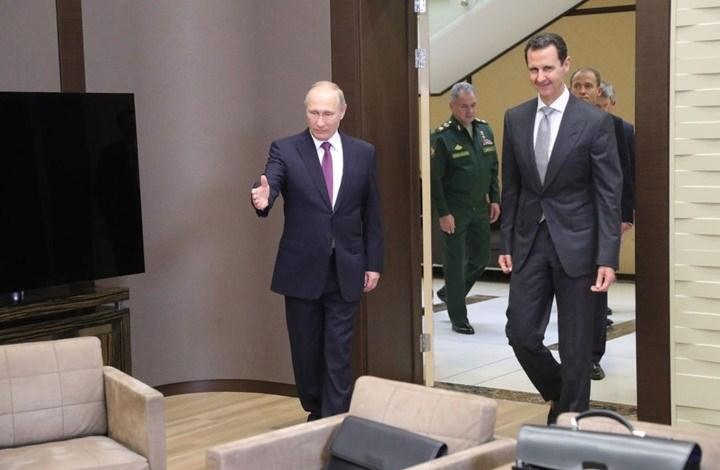 بوتين في اتصالٍ مع الأسد: تنفيذ اتفاقيات روسيا وتركيا سيحقق الاستقرار في إدلب