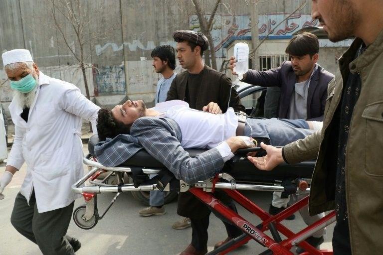 """""""داعش"""" يتبنى الهجوم على حفل رسمي بالعاصمة الأفغانية كابُل"""