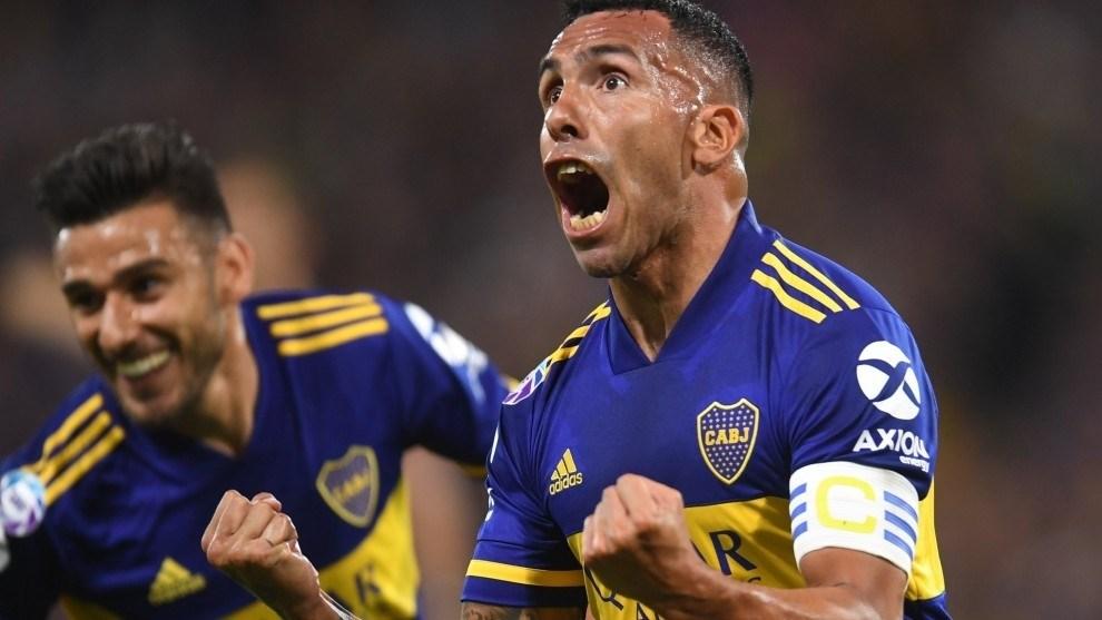 هدف رائع لتيفيز يتوِّج بوكا جونيورز بلقب الدوري الأرجنتيني (فيديو)
