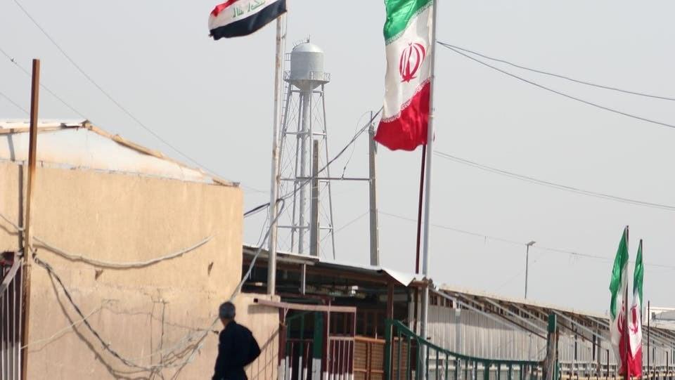 """العراق توقف التبادل التجاري البري مع إيران للحد من """"كورونا"""" ."""