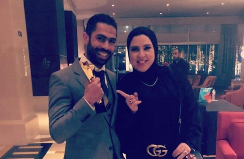 """زوجة أحمد فتحي لـ """"الميادين نت"""": هذا ما لا تعرفونه عن نجم الأهلي"""