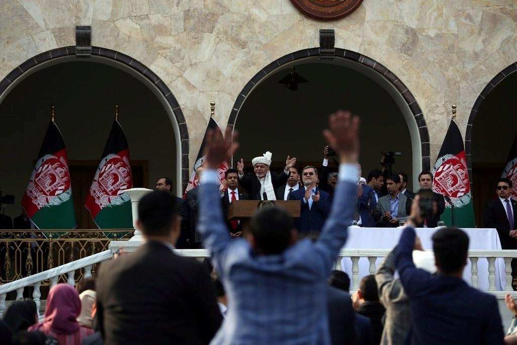 انفجاران يهزان كابول خلال حفل تنصيب الرئيس أشرف غني