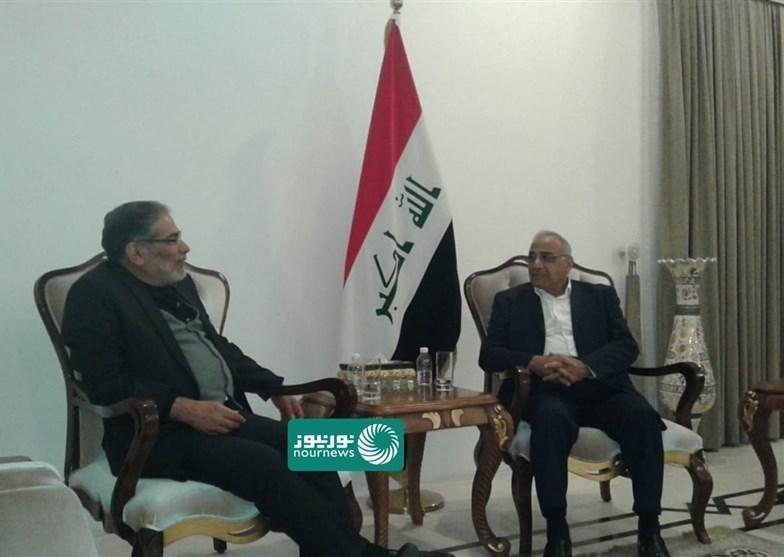 عبد المهدي خلال لقاء شمخاني: أميركا تضغط على العراق ليقطع علاقته مع إيران