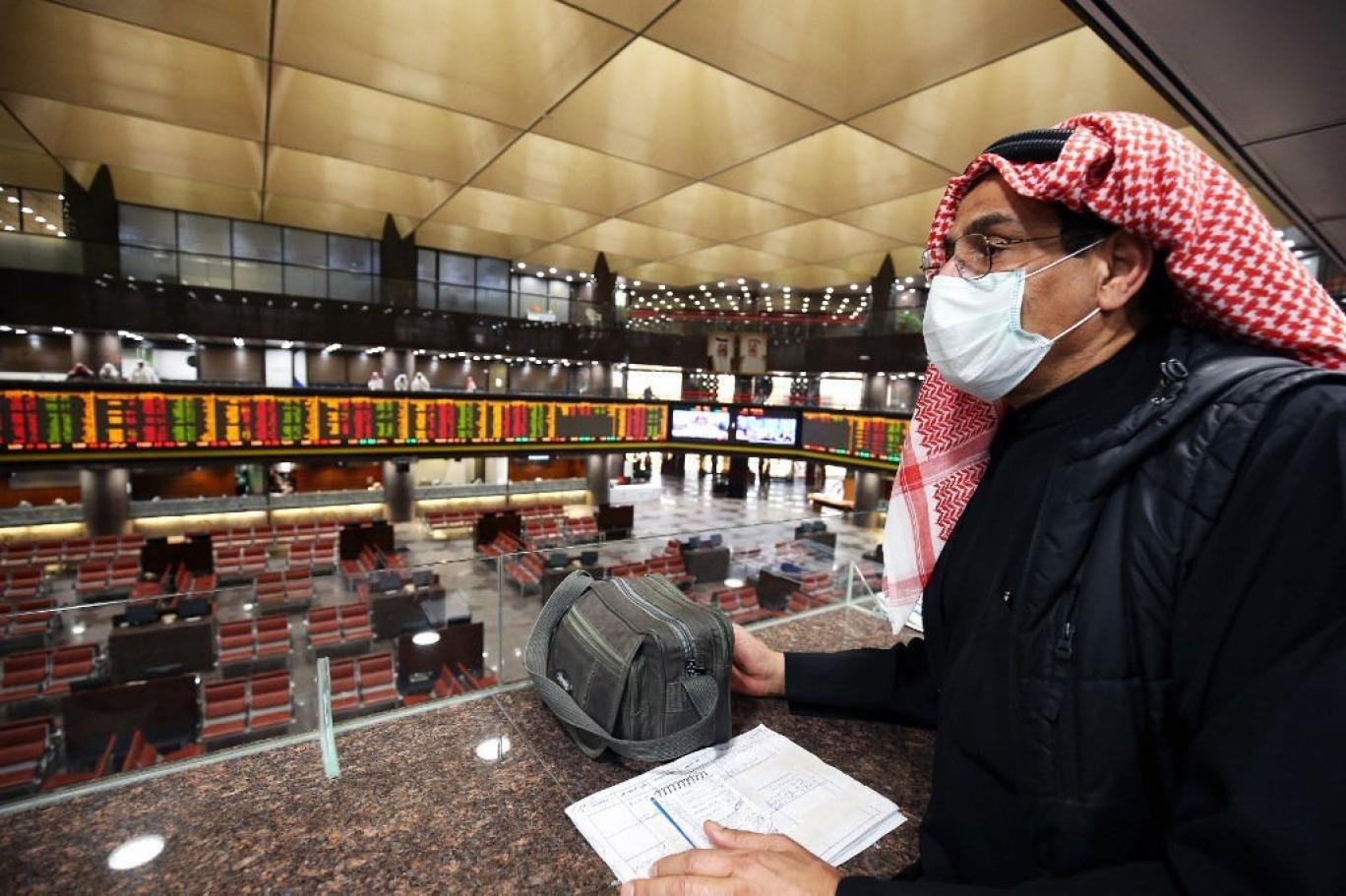 تراجع أغلب بورصات الشرق الأوسط بسبب كورونا