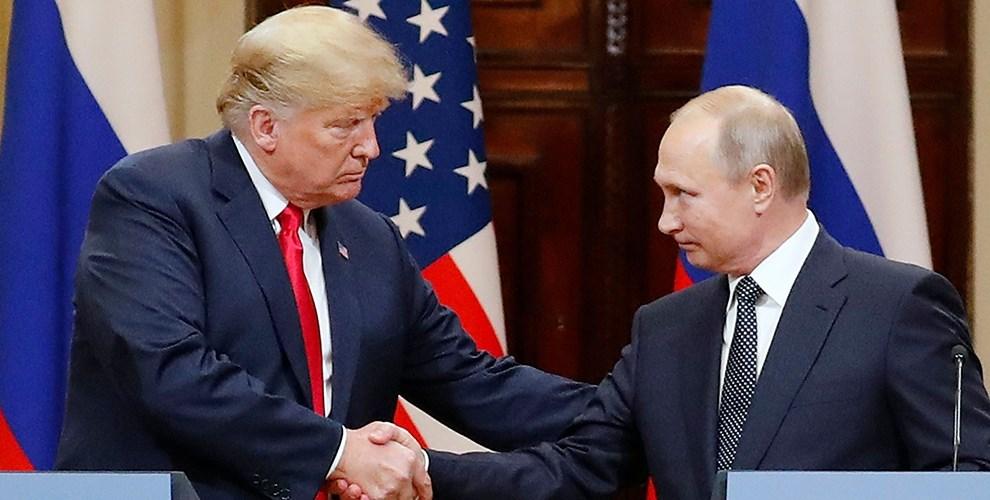 الكرملين: تم تبادل وجهات النظر بين بوتين وترامب حول الوضع في سوق النفط العالمية وتطورات كورونا
