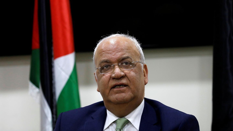 عريقات يحذر من عواقب قرار الاحتلال ضم أراضٍ فلسطينية محتلة