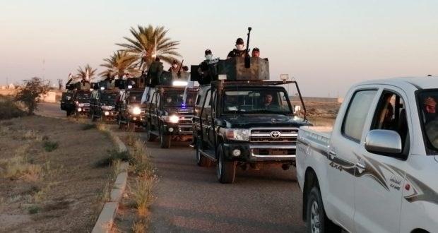 """الحشد الشعبي يدمر مقرين لـ""""داعش"""" جنوب غرب كركوك"""