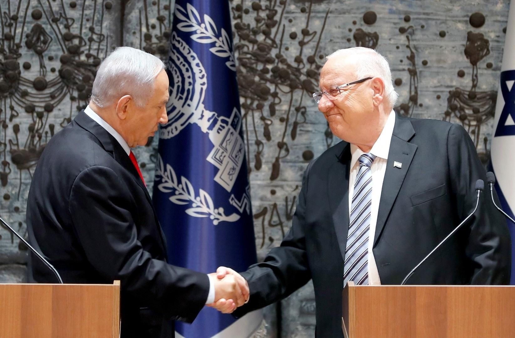 اليمين الإسرائيلي يطالب بتكليف نتنياهو لرئاسة الحكومة.. والرئيس يحيل الأمر إلى الكنيست