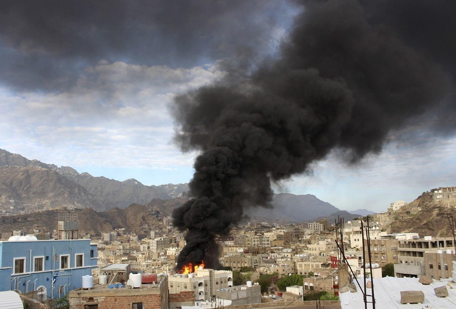 التحالف السعودي يستهدف مأرب بأكثر من 10 غارات