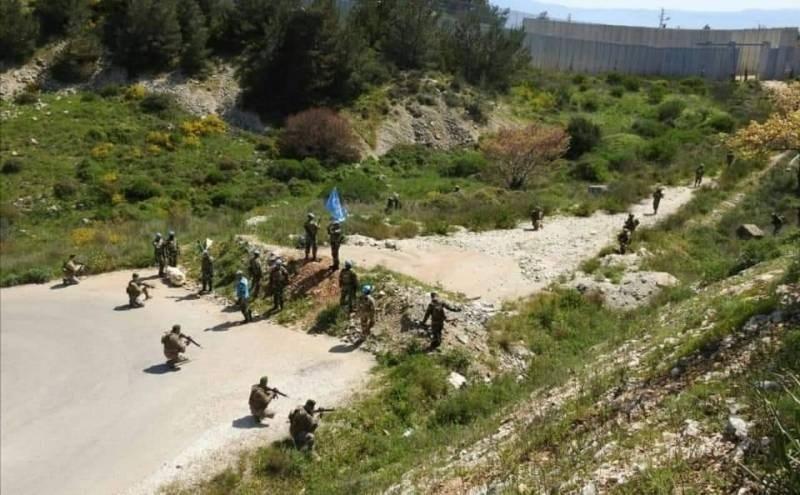 الجيش اللبناني يمنع تعدياَ إسرائيلياً على الحدود