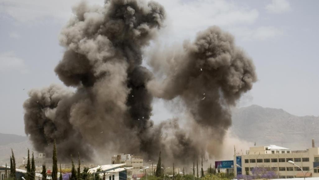 انفجار يهزّ صنعاء إثر غارات جوية للتحالف السعودي على العاصمة