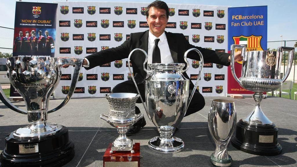 لابورتا: يخطط للترشح لانتخابات نادي برشلونة الرئاسية