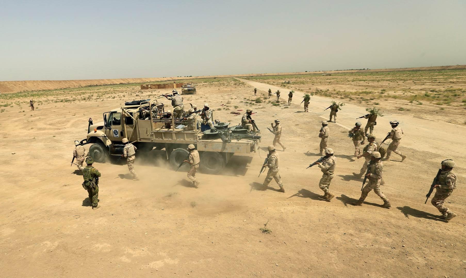"""الجيش العراقي يعلن مقتل قيادي في """"داعش"""" شمالي بغداد"""