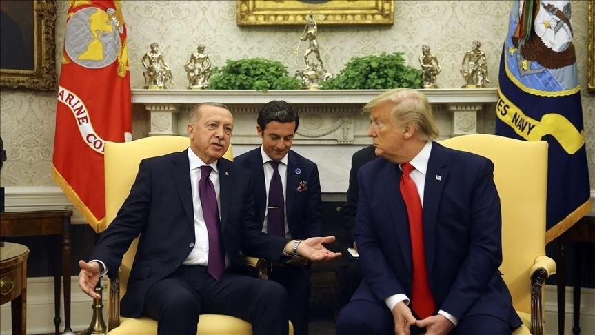 ترامب وإردوغان يؤكدان الدعم المشترك لمواجهة كورونا