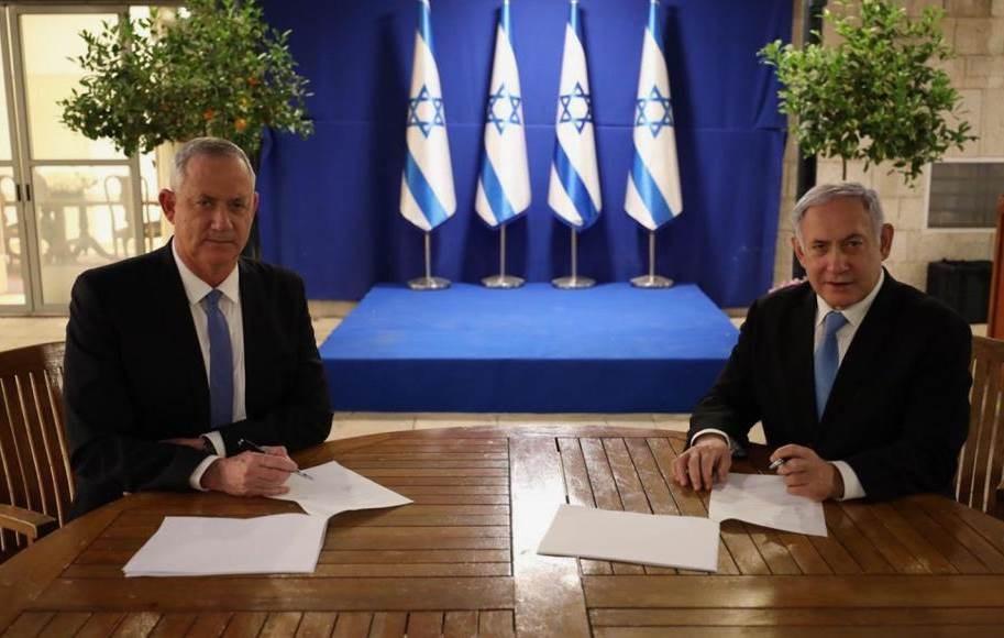 """i24NEWS"": تطبيق السيادة الإسرائيلية أبرز إنجازات نتنياهو في الاتفاق مع غانتس"