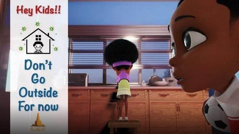 """بأسلوب جذاب.. نيجيري يصنع فيلماً لمساعدة الأطفال على فهم """"كورونا"""""""