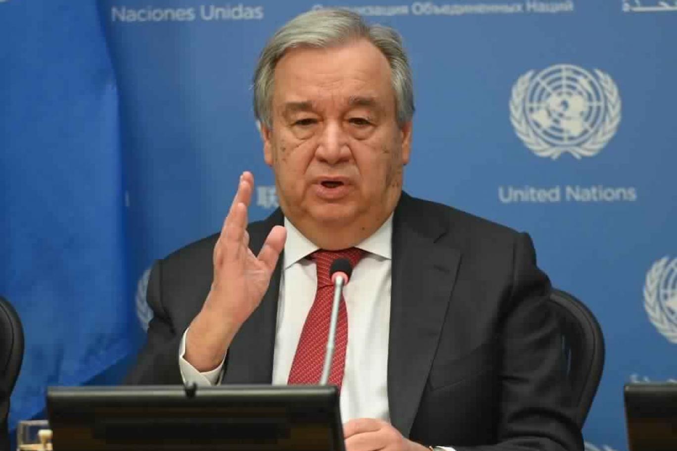 غوتيريش: كورونا أصبح أزمة صحية وثيقة الصلة بحقوق الإنسان