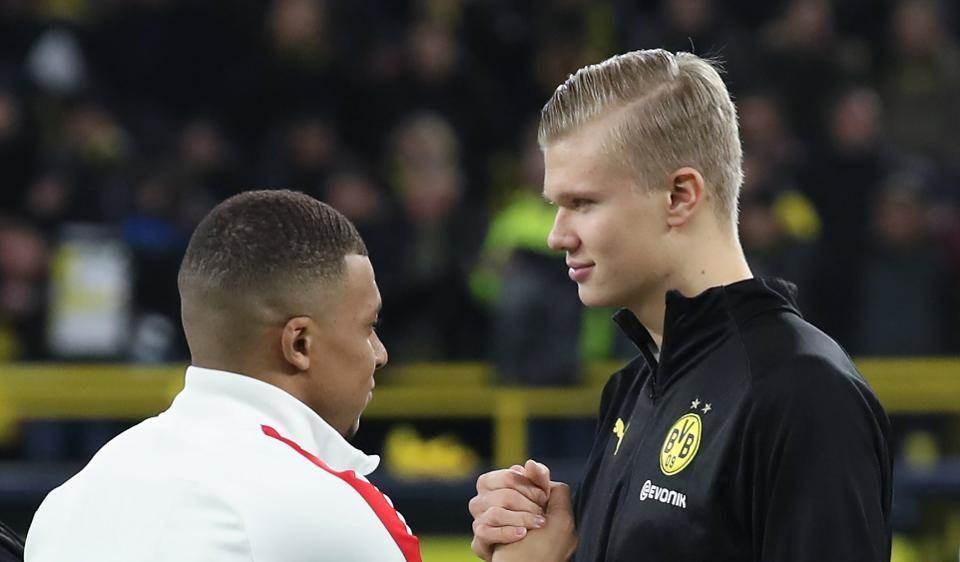 ثنائية هالاند ومبابي في ريال مدريد! هذا ما يريده النرويجي