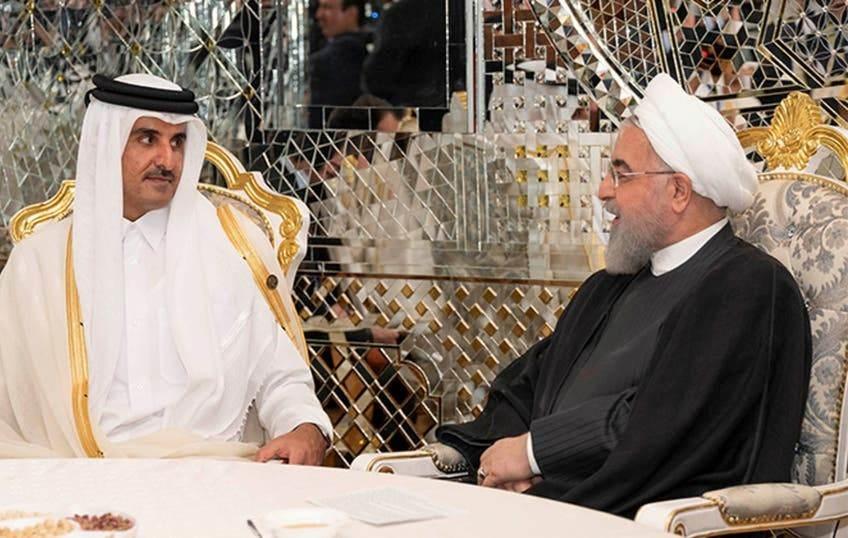 في اتصالٍ مع أمير قطر.. روحاني: نرصد تحركات الأميركيين بدقة