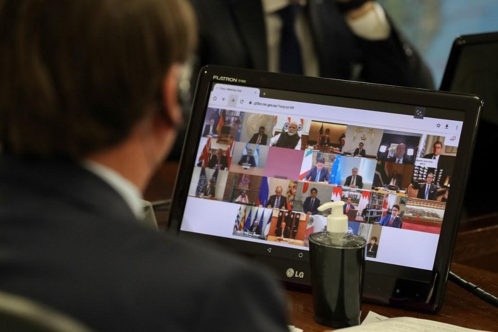 """""""العشرين"""" تطلق مبادرة جديدة في إطار جهود مكافحة كورونا"""
