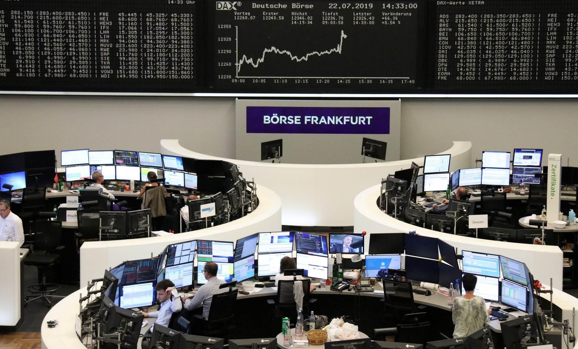 أسواق الأسهم الأوروبية ترتفع في التعاملات المبكرة