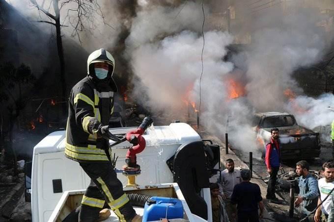 القبض على مشتبه به بتفجير صهريج في عفرين شمال سوريا