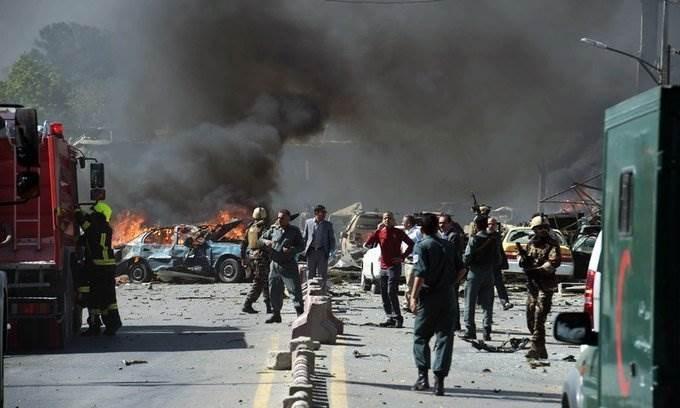 قتلى وجرحى في تفجير انتحاري قرب كابول