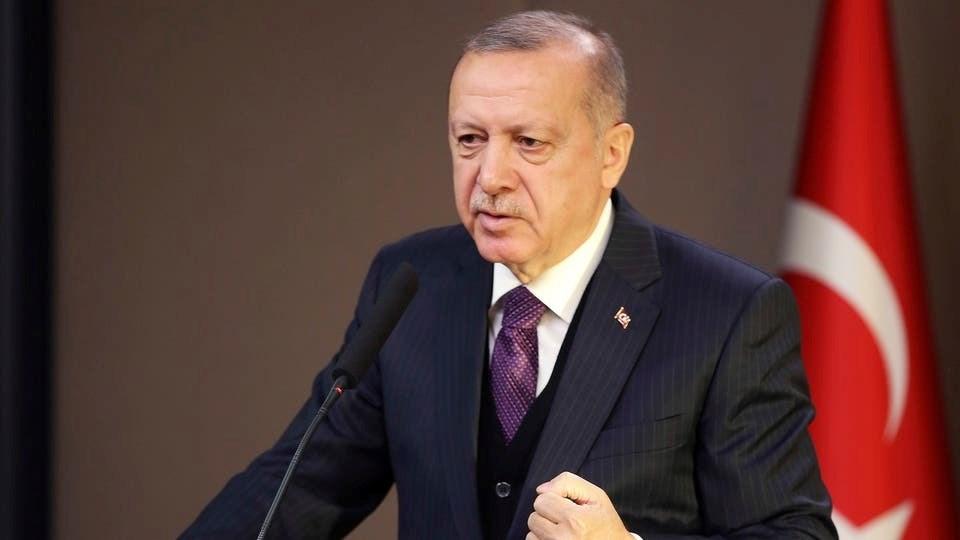 """إردوغان يدعو ترامب إلى """"تعاونٍ أقوى"""" مع أنقرة بخصوص سوريا وليبيا"""